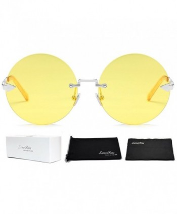 SamuRita Rimless Sunglasses Tinted Design