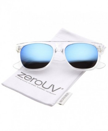 zeroUV Modern Flat Top Colored Sunglasses