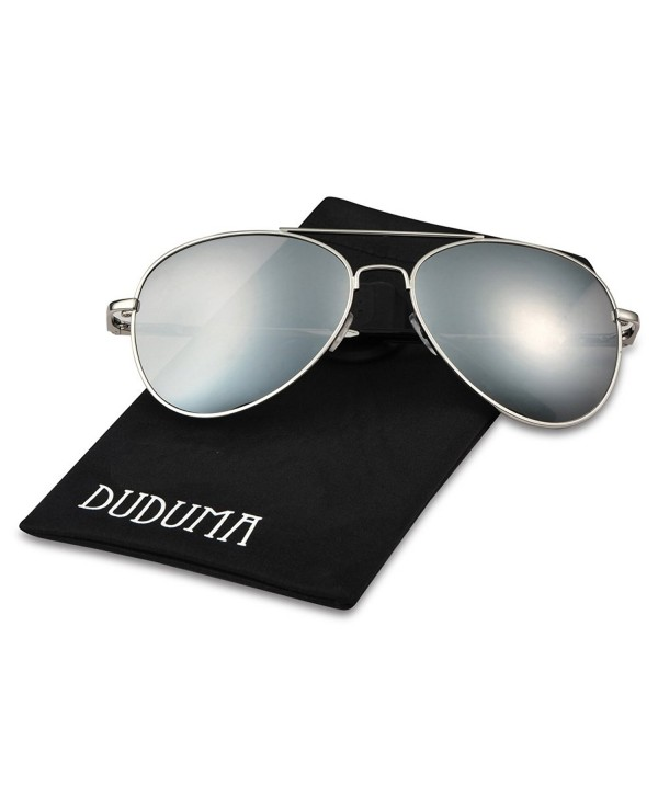 018265606f029 ... Fashion Aviator Sunglasses with Flat Lens Metal Frame for Women and Men  0713 - 7802silver Frame - C112O9YPX5H. Duduma Premium Sunglasses Protection  ...