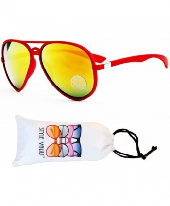 A128 VP Style Vault Sunglasses Red Fire
