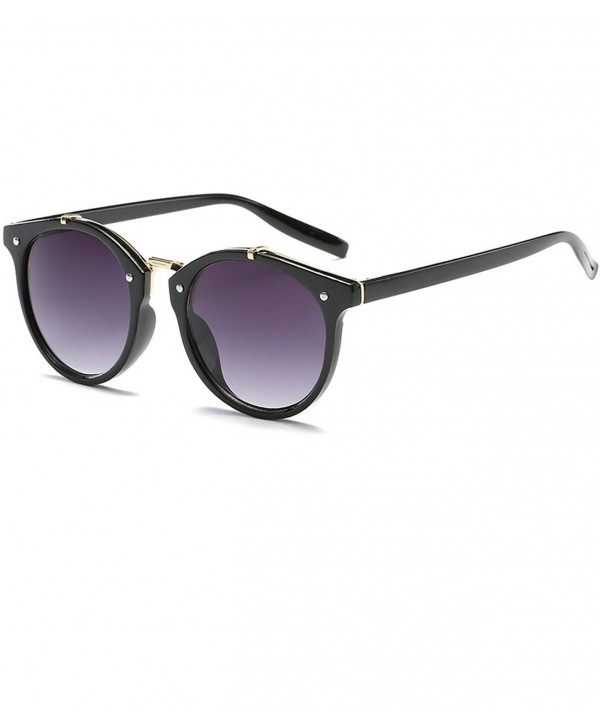 KELUOZE Polarized Classic Semi Rimless Sunglasses