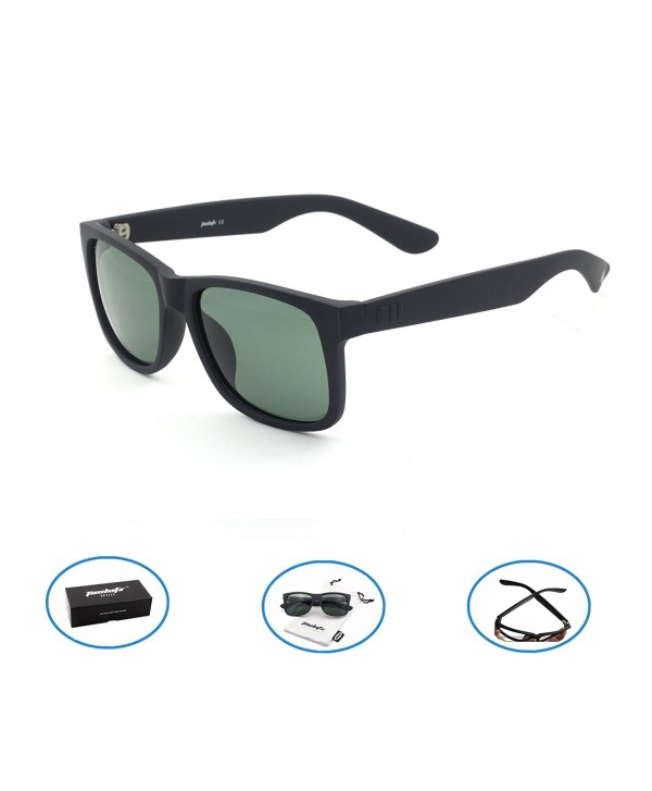 Tacloft Polarized Sunglasses Classic Wayfarer