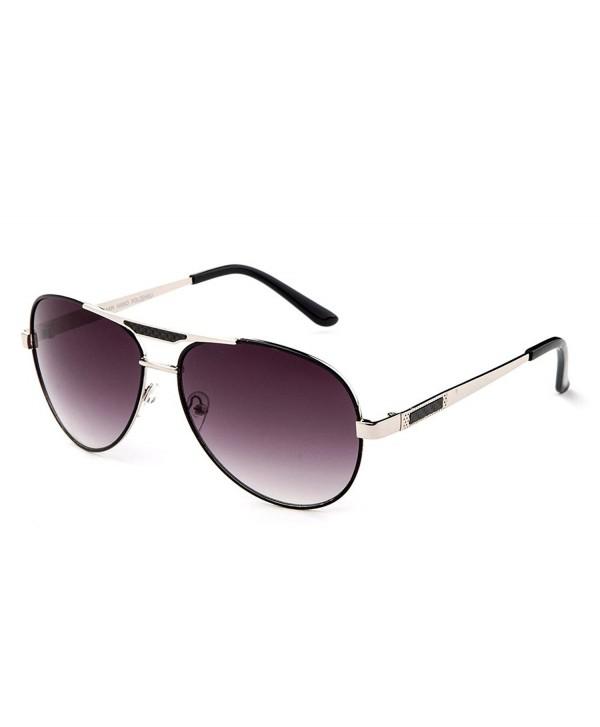 Quattro Aviator Fashionista Lenses Sunglasses