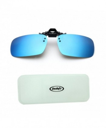 Tacloft Rectangle Sunglasses Driving CLIPON001