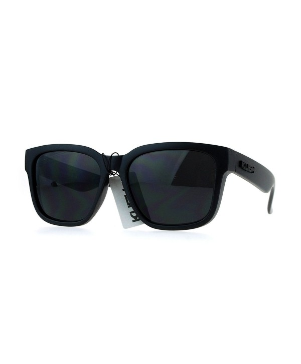 Kush Black Gangster Oversize Sunglasses