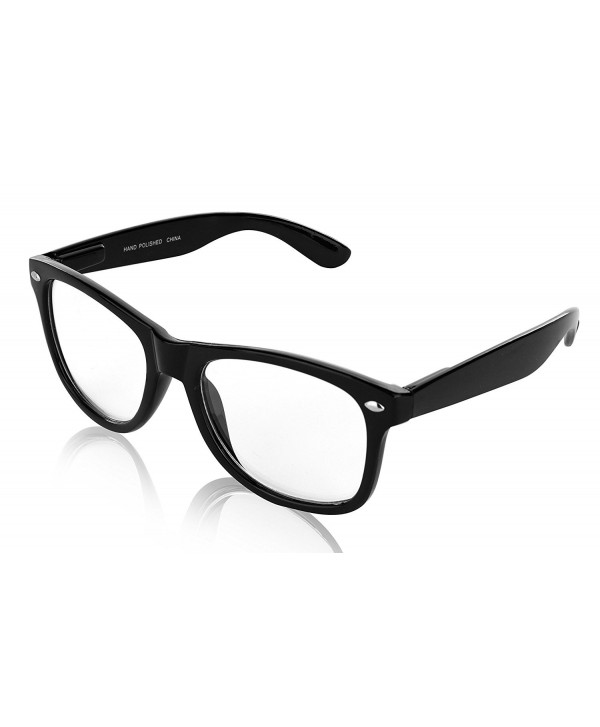 SunnyPro Prescription Glasses Black Clear