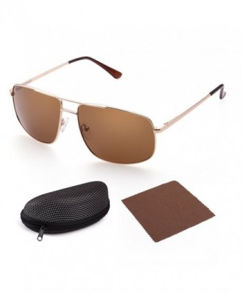 Polarized Rectangular Sunglasses LotFancy Protection