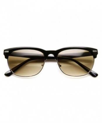 zeroUV Fashion Sunglasses Black Silver Lavender