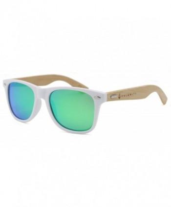 Kalamity Bamboo Polarized Mirror Sunglasses