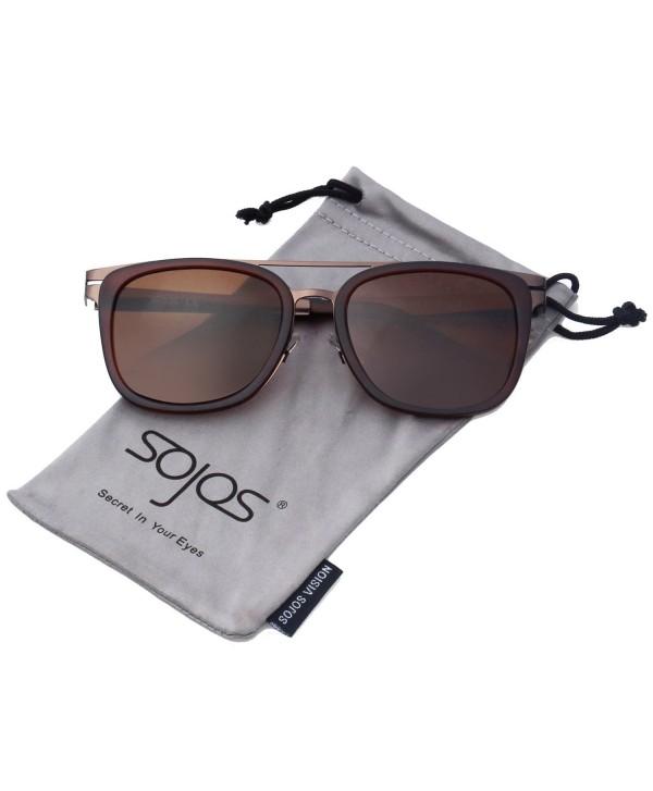 Classic Square Sunglasses Vintage Double