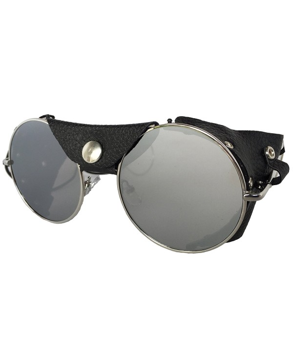 Road Vision Motorcycle Sunglasses Chrome