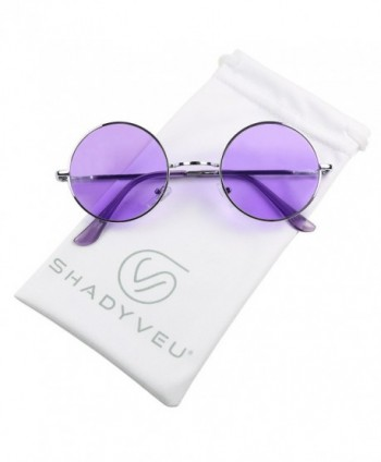 ShadyVEU Colorful Lennon Groovy Sunglasses