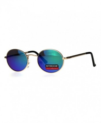 Gangster Rapper Mirror Retro Sunglasses
