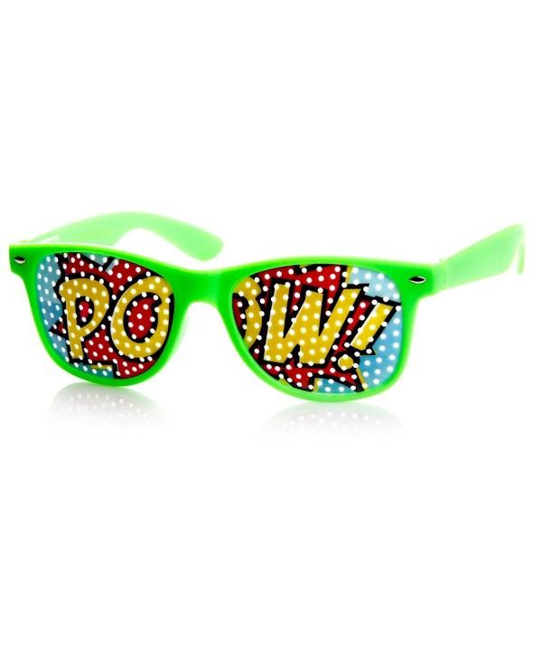 zeroUV Classic Colorful Rimmed Sunglasses