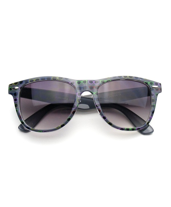 Retro Indie Pattern Assorted Sunglasses
