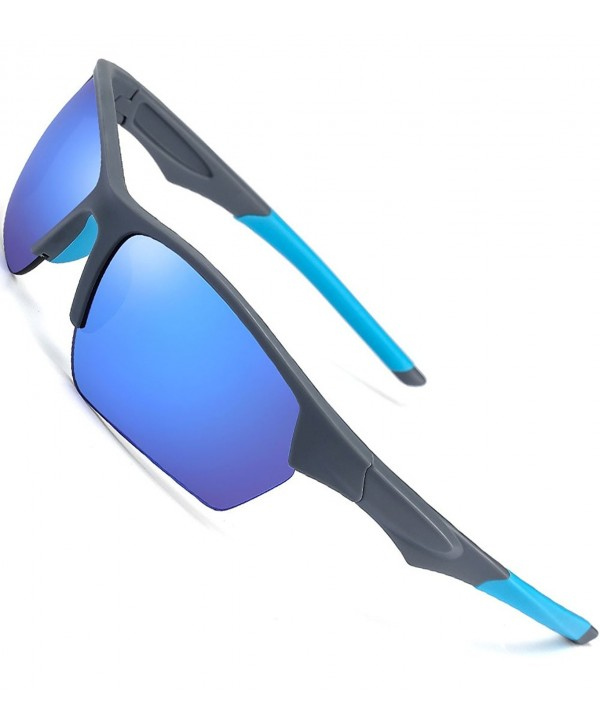CAXMAN Outdoor Sunglasses Mirrored Polycarbonate