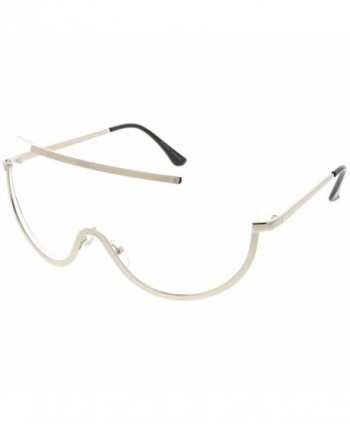 sunglassLA Oversize Rimless Shield Eyeglasses