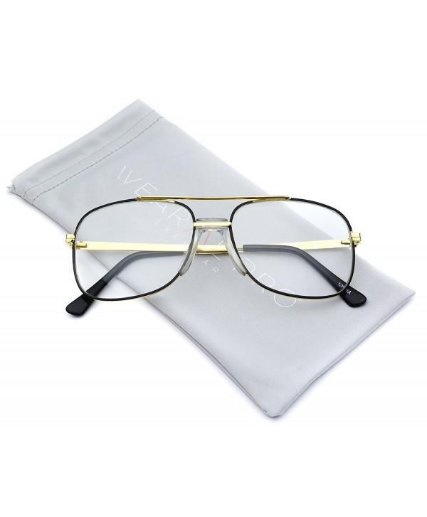 Classic Square Translucent Aviator Glasses