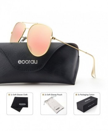 EOORAU Aviator Sunglasses Polarized Womens