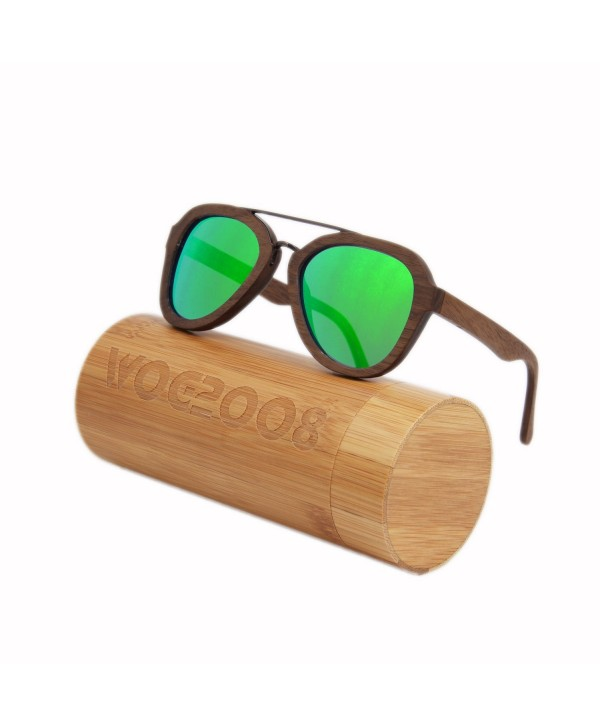 bamboo sunglasses Polarized wooden wayfarer