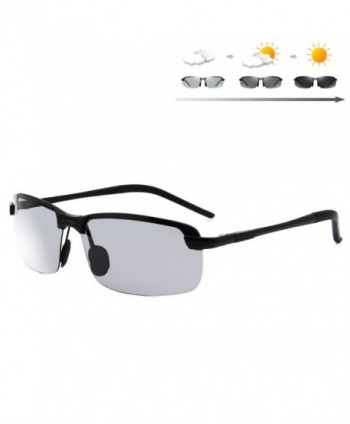 Galulas Semi Rimless Discoloration All weather Sunglasses