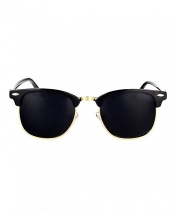 Classic Polarized Clubmasters Sunglasses YANQIUYU