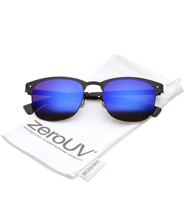 zeroUV Rimless Mirror Square Sunglasses