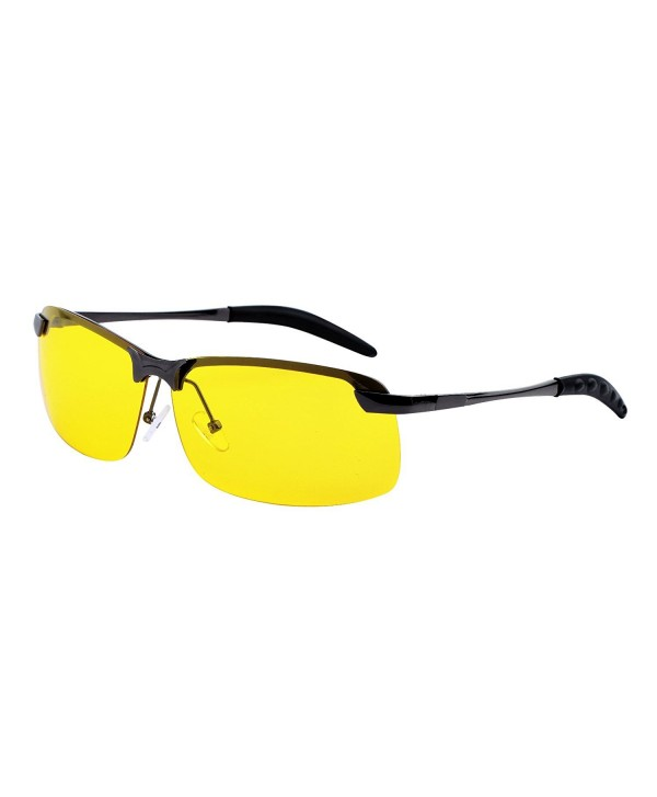 YANQIUYU Rimless Polarized Driving Gunmetal