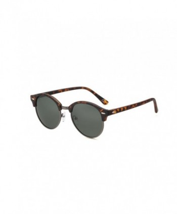 2020Ventiventi Polarized Leopard Sunglasses Rimless