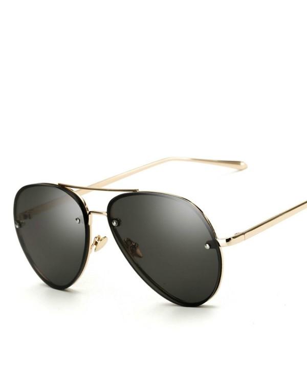 Freckles Mark Oversize Vintage Sunglasses