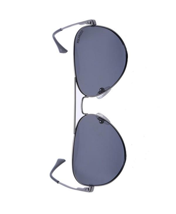 Justzon R3025AF Polarized Sunglasses Dk gunmetal