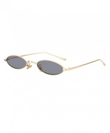 ROYAL GIRL Vintage Sunglasses C48 Gold Gray