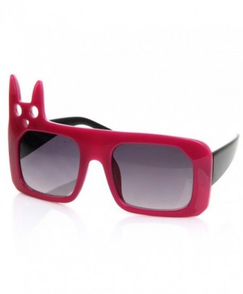zeroUV Inspired Fashion Oversized Sunglasses