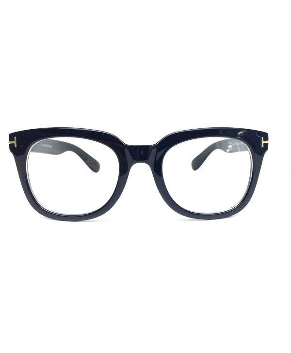 Fashion Designer Rectangle Eyeglasses Eyewear