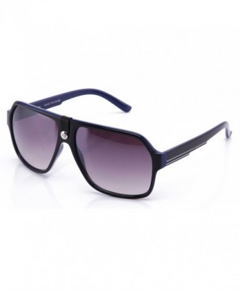 IG Plastic Fashion Aviator Sunglasses