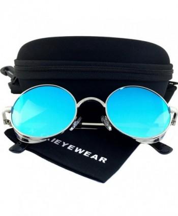 NIKKIEYEWEAR Vintage Steampunk Embossed Sunglasses