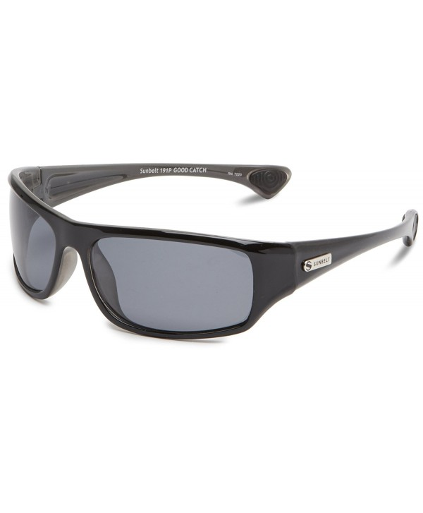 Sunbelt Catch Square Sunglasses Shiny