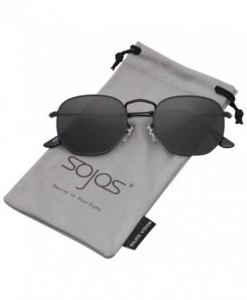Classic Polygon Sunglasses Mirrored Glasses