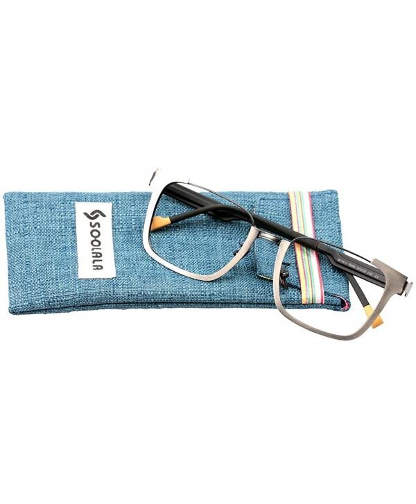 SOOLALA Stylish Eyeglass Reading Glasses