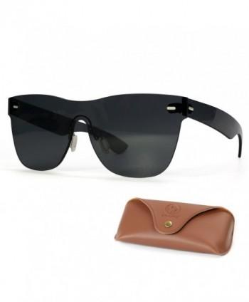 Picador Rimless Retro Sunglasses Unisex