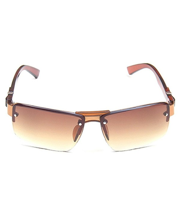 Butterfly Iron Rectangular Sunglasses Eyewears