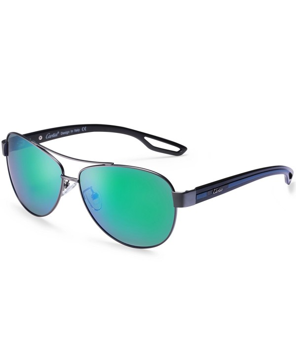 Aviator Sunglasses Polarized Protection Multicoloured