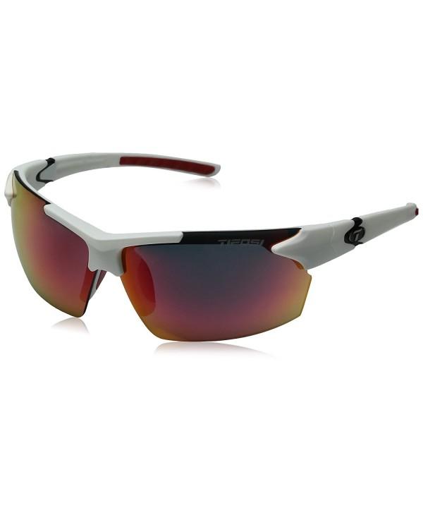 Tifosi Wrap Sunglasses Matte White