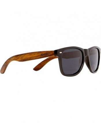WOODIES Wayfarer Walnut Sunglasses Polarized
