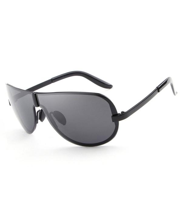 HDCRAFTER Fashion Oversized Sunglasses Polarized