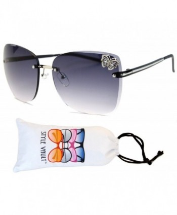 WM3096 vp Style Vault Sunglasses black smoked