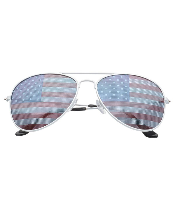MLC EYEWEAR Patriot Teardrop Sunglasses