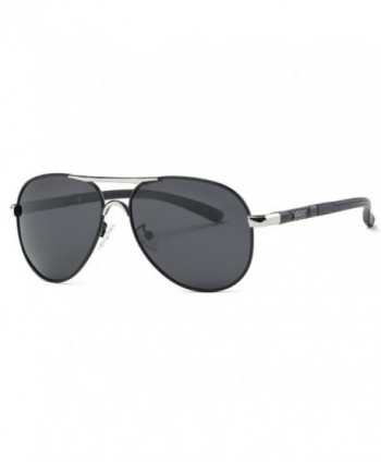 Kimorn Polarized Sunglasses Glasses Silver
