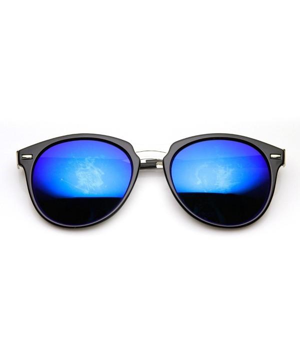 zeroUV Fashion Design Sunglasses Black Silver