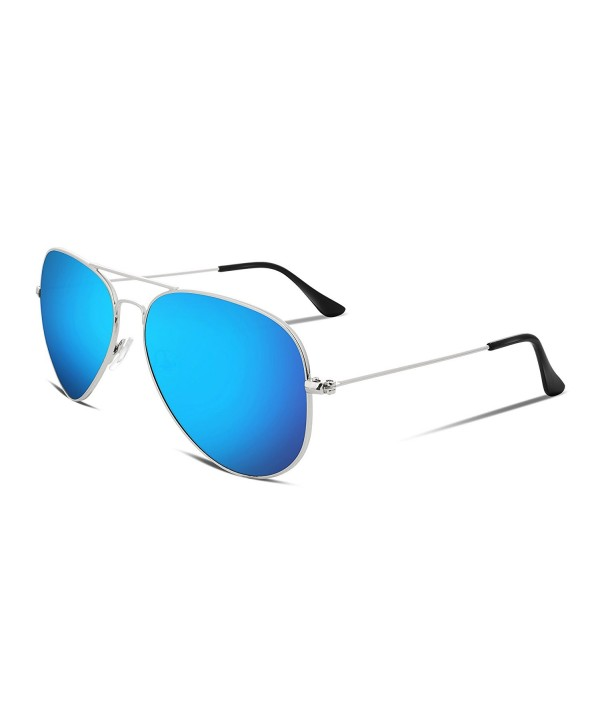 FEISEDY Vintage Aviator Sunglasses Plastic